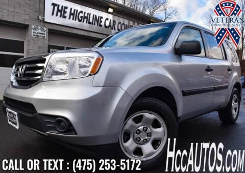 2012 Honda Pilot for sale at The Highline Car Connection in Waterbury CT