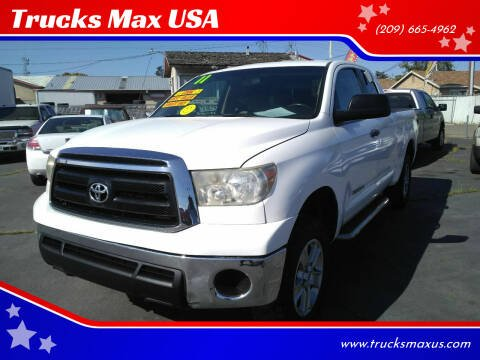 2011 Toyota Tundra for sale at Trucks Max USA in Manteca CA