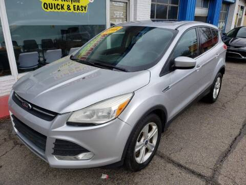 2015 Ford Escape for sale at AutoMotion Sales in Franklin OH