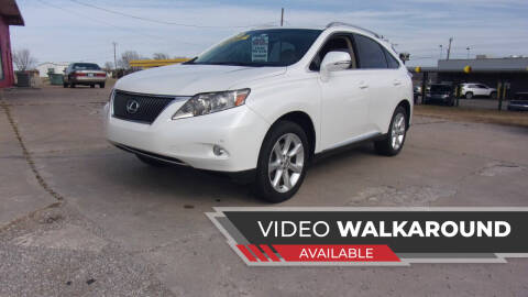 2010 Lexus RX 350 for sale at 6 D's Auto Sales MANNFORD in Mannford OK