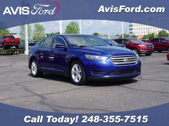 2015 Ford Taurus for sale at Work With Me Dave in Southfield MI