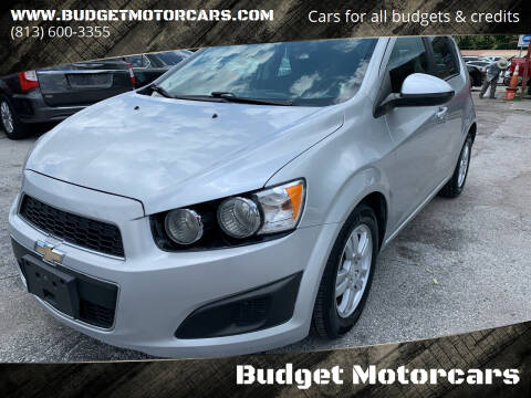2015 Chevrolet Sonic for sale at Budget Motorcars in Tampa FL