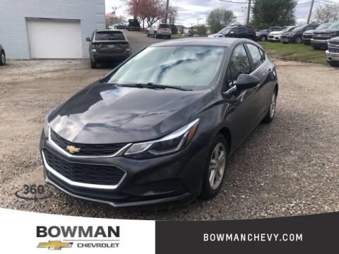 2017 Chevrolet Cruze for sale at Bowman Auto Center in Clarkston MI