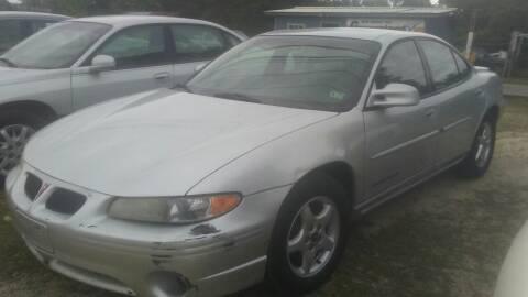 2002 Pontiac Grand Prix for sale at Malley's Auto in Picayune MS