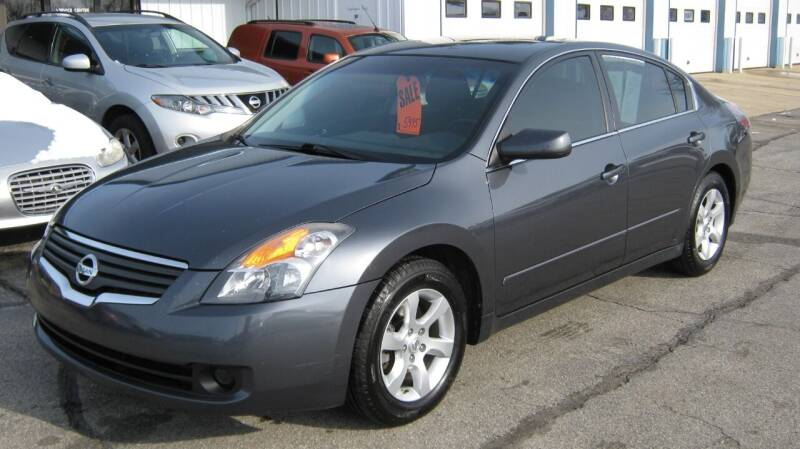 2007 Nissan Altima for sale at Affordable Automotive Center in Frankfort IN