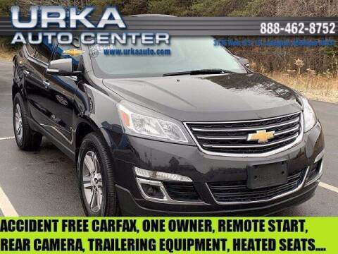 2017 Chevrolet Traverse for sale at Urka Auto Center in Ludington MI