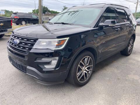 2017 Ford Explorer for sale at 222 Newbury Motors in Peabody MA