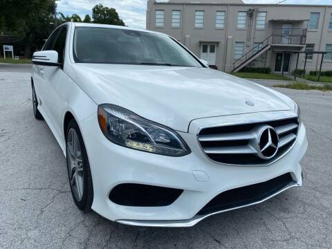 2015 Mercedes-Benz E-Class for sale at Consumer Auto Credit in Tampa FL