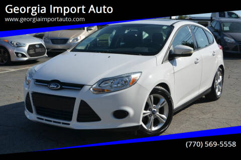 2014 Ford Focus for sale at Georgia Import Auto in Alpharetta GA