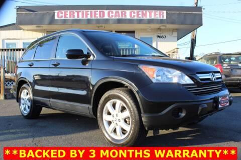 2007 Honda CR-V for sale at CERTIFIED CAR CENTER in Fairfax VA