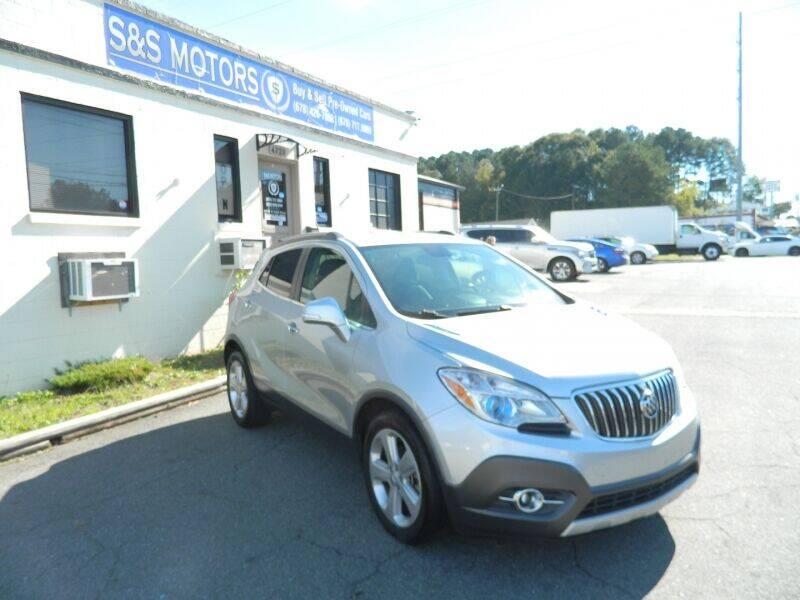 2015 Buick Encore for sale at S & S Motors in Marietta GA
