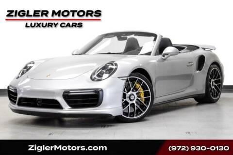 2019 Porsche 911 for sale at Zigler Motors in Addison TX