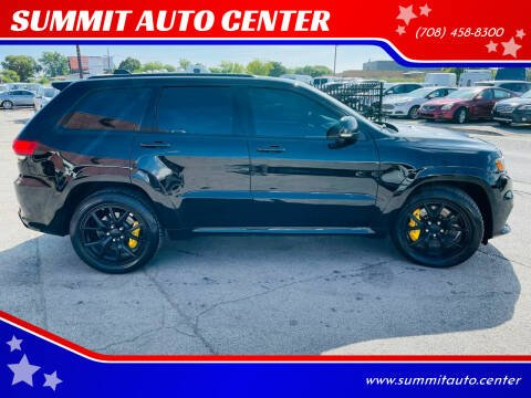 2018 Jeep Grand Cherokee for sale at SUMMIT AUTO CENTER in Summit IL