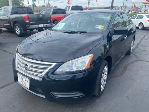2015 Nissan Sentra for sale at Rucker's Auto Sales Inc. in Nashville TN