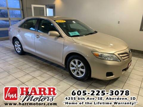 2011 Toyota Camry for sale at Harr's Redfield Ford in Redfield SD