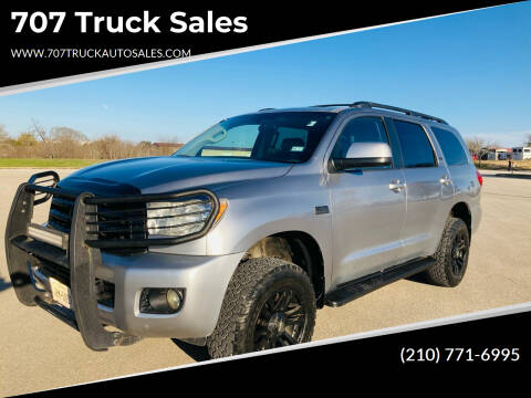 2008 Toyota Sequoia for sale at 707 Truck Sales in San Antonio TX