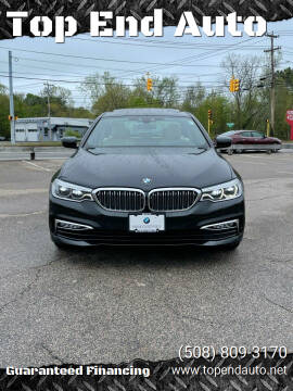 2017 BMW 5 Series for sale at Top End Auto in North Atteboro MA
