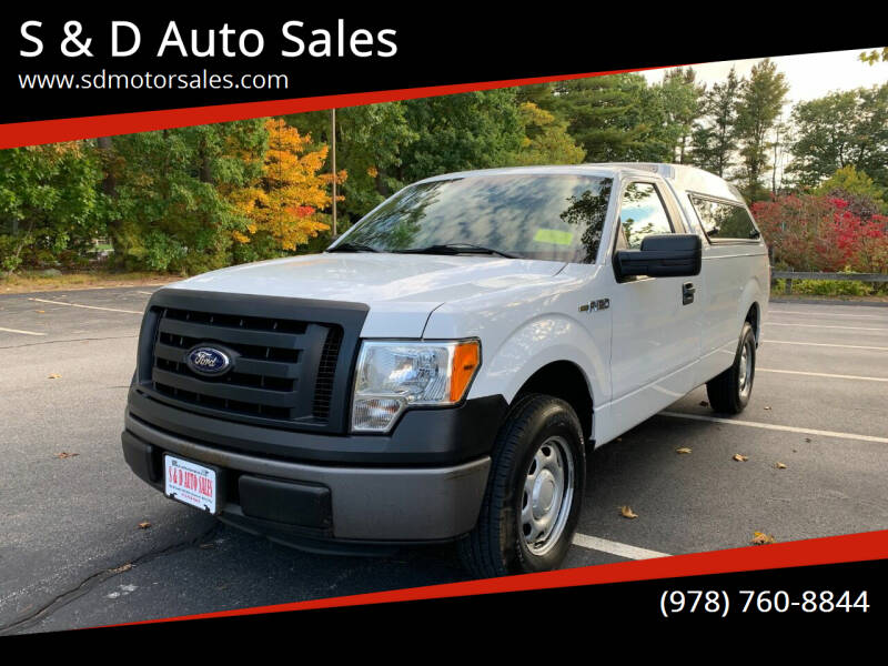 2012 Ford F-150 for sale at S & D Auto Sales in Maynard MA