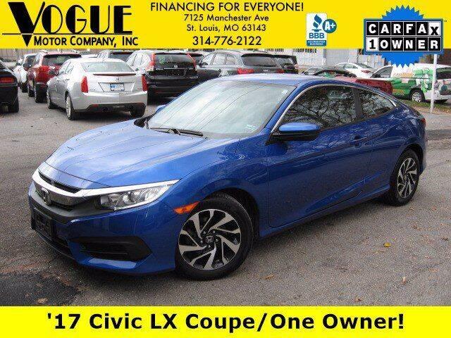 2017 Honda Civic for sale at Vogue Motor Company Inc in Saint Louis MO