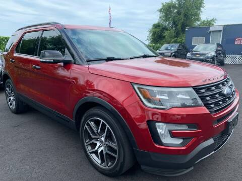 2016 Ford Explorer for sale at TD MOTOR LEASING LLC in Staten Island NY