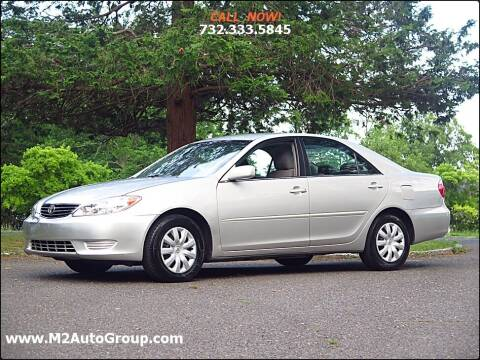 2005 Toyota Camry for sale at M2 Auto Group Llc. EAST BRUNSWICK in East Brunswick NJ