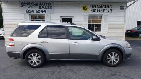 2008 Ford Taurus X for sale at STATE LINE AUTO SALES in New Church VA