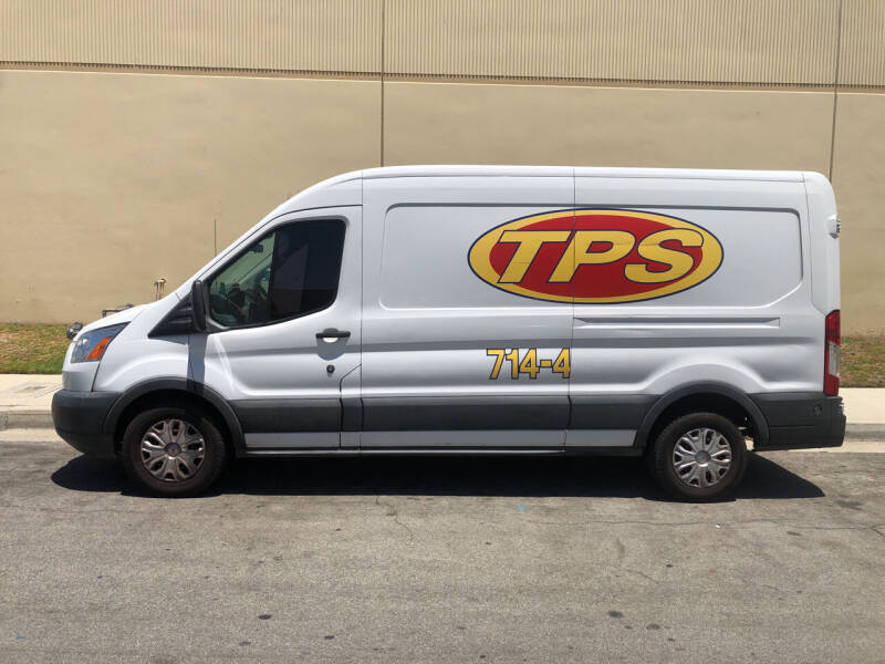 2015 Ford Transit Cargo for sale at HIGH-LINE MOTOR SPORTS in Brea CA