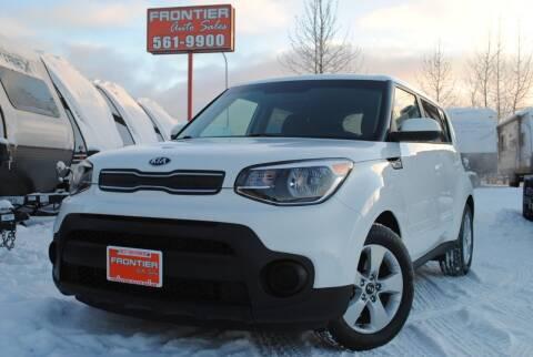 2018 Kia Soul for sale at Frontier Auto & RV Sales in Anchorage AK