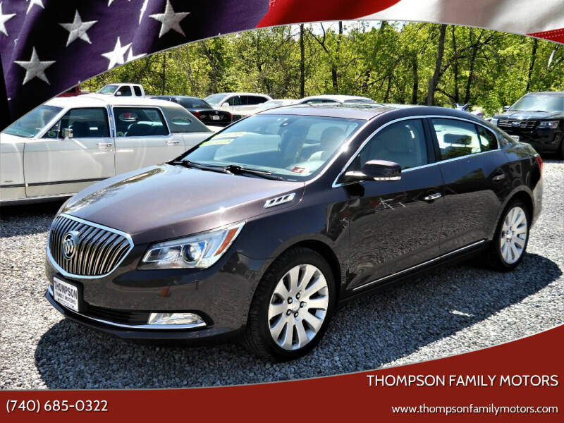 2014 Buick LaCrosse for sale at THOMPSON FAMILY MOTORS in Senecaville OH