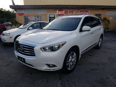 2013 Infiniti JX35 for sale at VALDO AUTO SALES in Miami FL