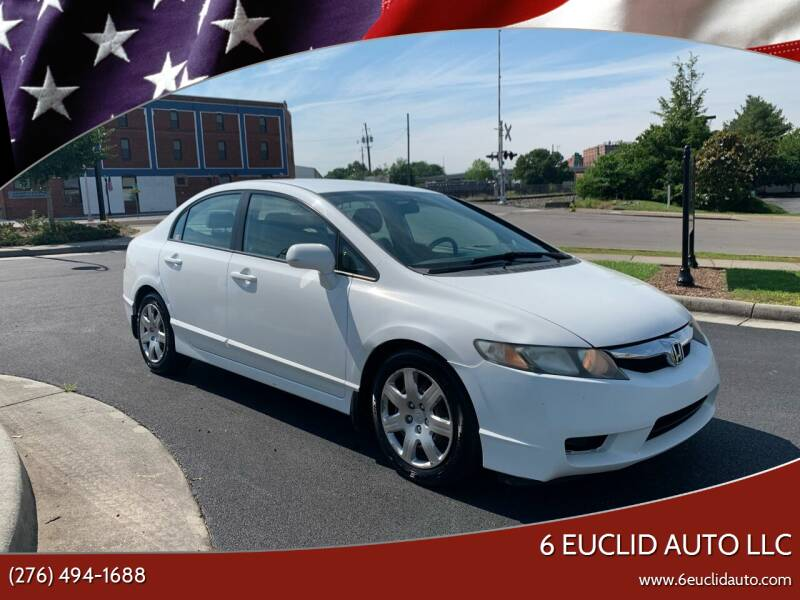 2010 Honda Civic for sale at 6 Euclid Auto LLC in Bristol VA