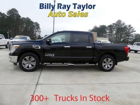 2017 Nissan Titan for sale at Billy Ray Taylor Auto Sales in Cullman AL