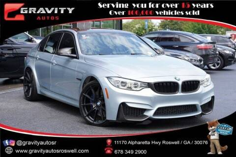 2015 BMW M3 for sale at Gravity Autos Roswell in Roswell GA
