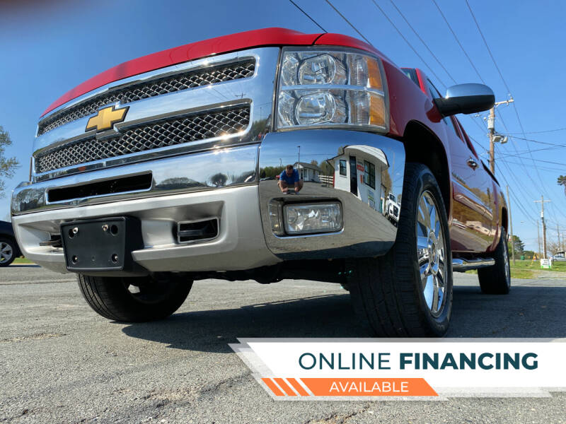 2012 Chevrolet Silverado 1500 for sale at Prime One Inc in Walkertown NC