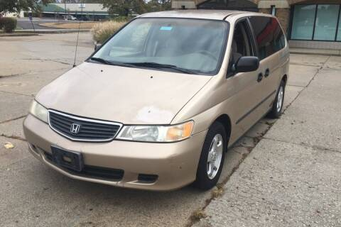 2000 Honda Odyssey for sale at WEINLE MOTORSPORTS in Cleves OH