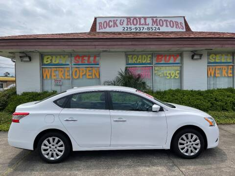 2015 Nissan Sentra for sale at Rock & Roll Motors in Baton Rouge LA