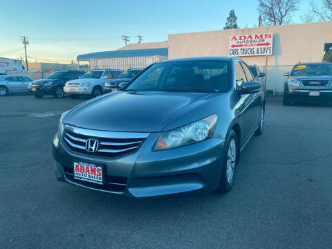 2011 Honda Accord for sale at Adams Auto Sales in Sacramento CA