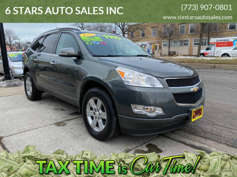 2011 Chevrolet Traverse for sale at 6 STARS AUTO SALES INC in Chicago IL