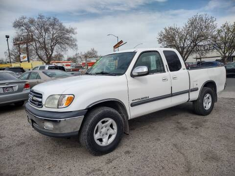 2002 Toyota Tundra for sale at Larry's Auto Sales Inc. in Fresno CA