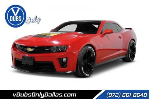 2013 Chevrolet Camaro for sale at VDUBS ONLY in Dallas TX
