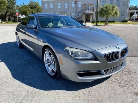 2013 BMW 6 Series for sale at LUXURY AUTO MALL in Tampa FL