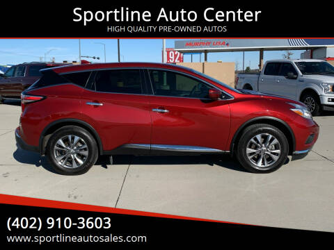 2017 Nissan Murano for sale at Sportline Auto Center in Columbus NE