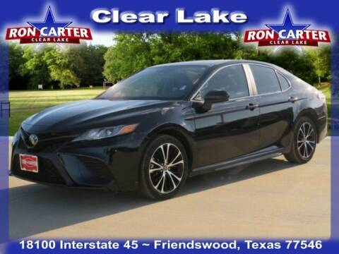 2020 Toyota Camry for sale at Ron Carter  Clear Lake Used Cars in Houston TX