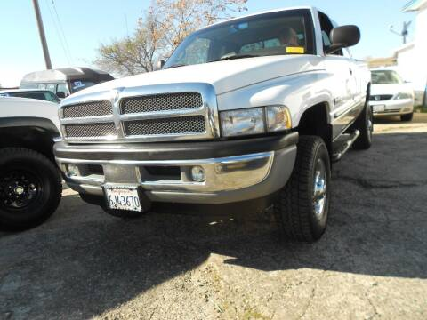 2001 Dodge Ram Pickup 2500 for sale at Mountain Auto in Jackson CA