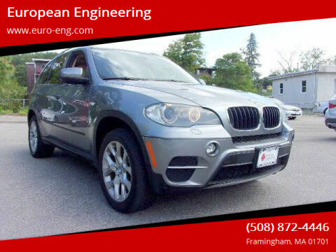 2011 BMW X5 for sale at European Engineering in Framingham MA