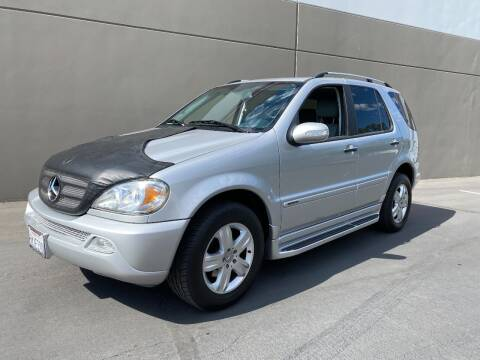 2005 Mercedes-Benz M-Class for sale at 3D Auto Sales in Rocklin CA