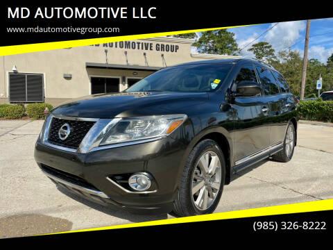2015 Nissan Pathfinder for sale at MD AUTOMOTIVE LLC in Slidell LA