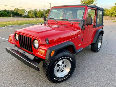 1997 Jeep Wrangler for sale at Car Match in Temple Hills MD