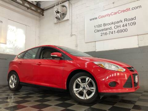 2013 Ford Focus for sale at County Car Credit in Cleveland OH
