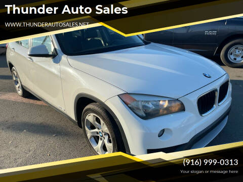 2013 BMW X1 for sale at Thunder Auto Sales in Sacramento CA
